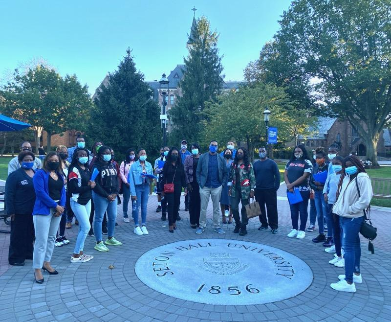 East Orange SWEP Students at Seton Hall